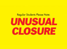 Unusual Closure Monday, August 22nd from 5-9pm